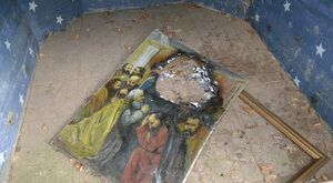 Sprofanowano obraz Matki Boskiej