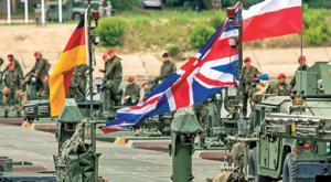 NATO pokazuje wPolsce kły