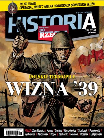 """Okładka miesięcznika """"Historia Do Rzeczy"""" nr 9/2016 (43)"""